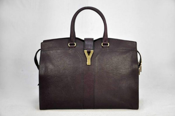 Ysl Large Cabas Chyc Leather Top Handle Bag 99965