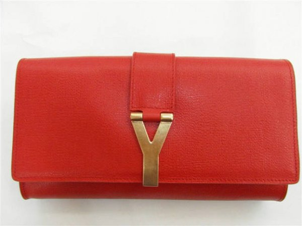 YSL Bags 2013-Yves Saint Laurent Clutch In Red 158276
